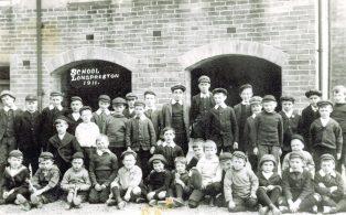 Long Preston Endowed School Group Photograph 1911