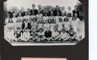 Long Preston Endowed School pupils 1941