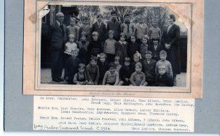 Long Preston Endowed School group circa 1936